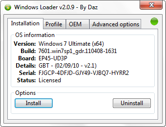 Windows 7 activator software